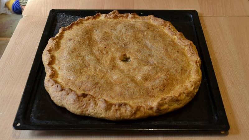 Курник - куриный пирог