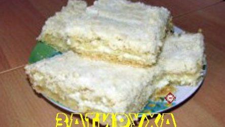 Затируха: песочный пирог с творогом