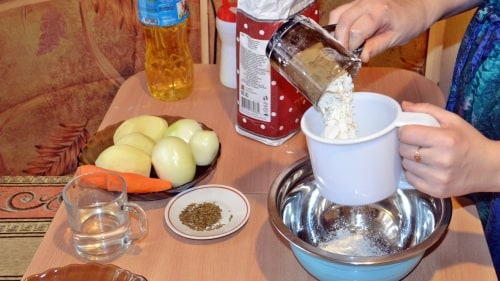 Тесто на ханум