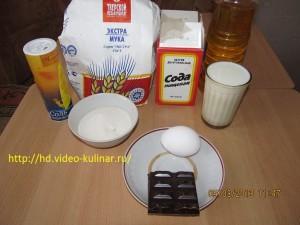 Ингредиенты для кексиков.