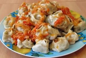 Как приготовить узбекские манты