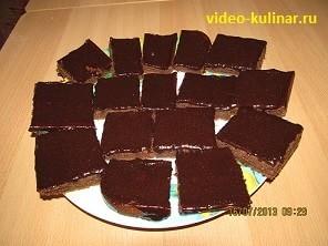 Очень быстрые шоколадные пирожные