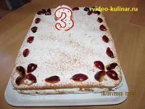 Рецепт торта Неженка