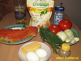 Рыба по-гречески ингредиенты