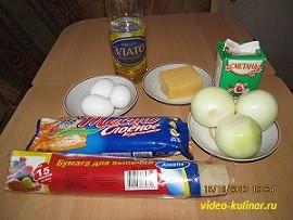 Луковый пирог ингредиенты
