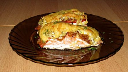 Рыба по-гречески в духовке