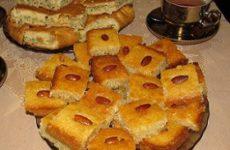Басбуса: рецепт восточной сладости