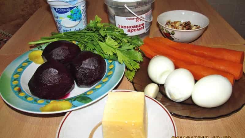 Овощные шарики ингредиенты