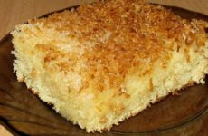 Кокосовый пирог со сливками: Raffaello отдыхает