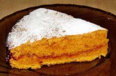 Сладкий томатный пирог