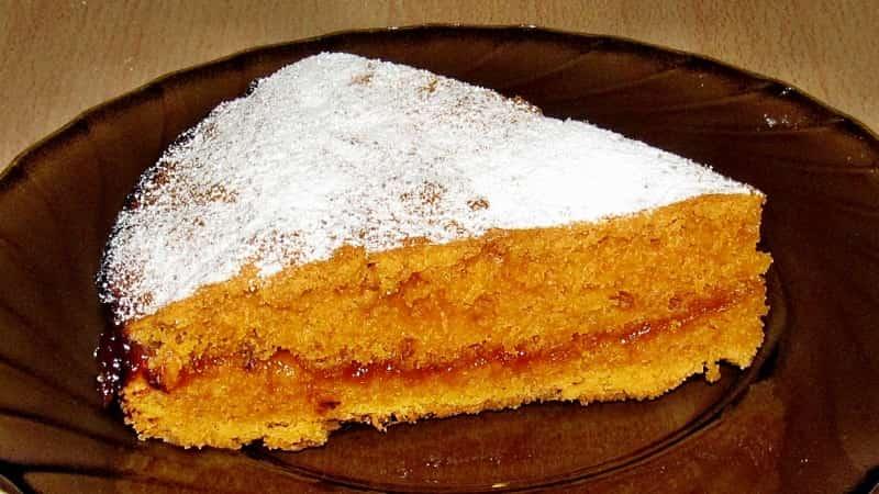 Как приготовить сладкий томатный пирог