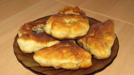 Беляши с мясом: рецепт на кефире
