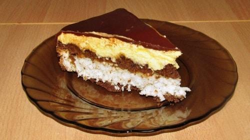 Торт Баунти рецепт с фото