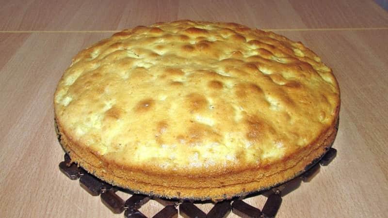 Фруктовый пирог в духовке
