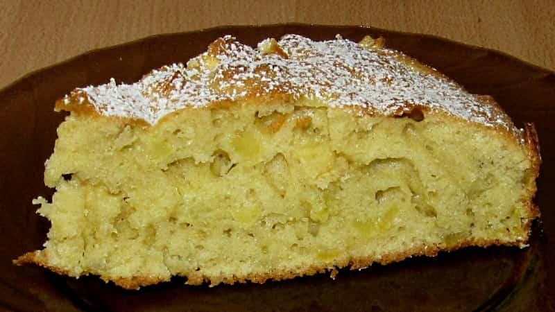 Фруктовый пирог быстро