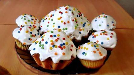Быстрый пасхальный кекс: видео рецепт