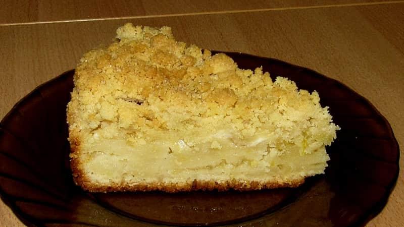 Сладкий лимонный пирог