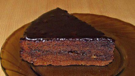 Торт Захер— «классический рецепт»
