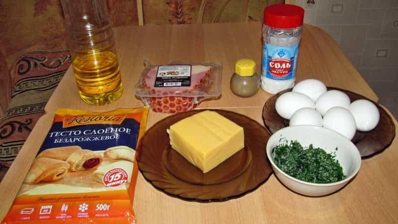 Ингредиенты для пирога Галета