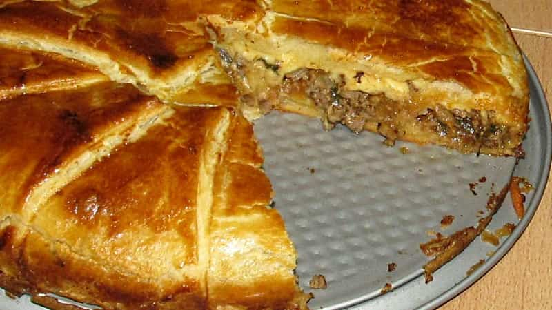 Греческий пирог из лоскутков