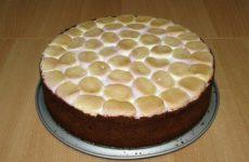 Шоколадный торт Жираф с маршмеллоу