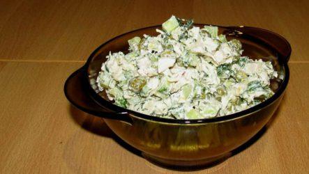 Салат Леди с курицей: легкий и сочный салатик