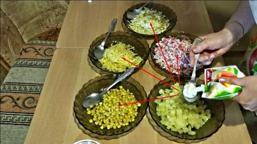 Майонез для крабового салата