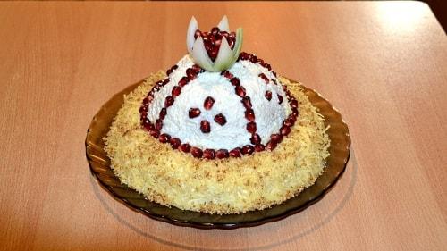 Рецепт салата Шапка Моноваха