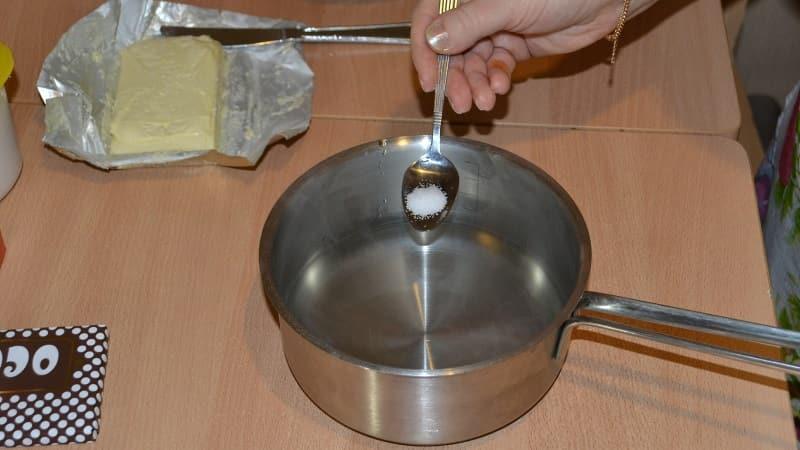 Соль в торте Дамские пальчики