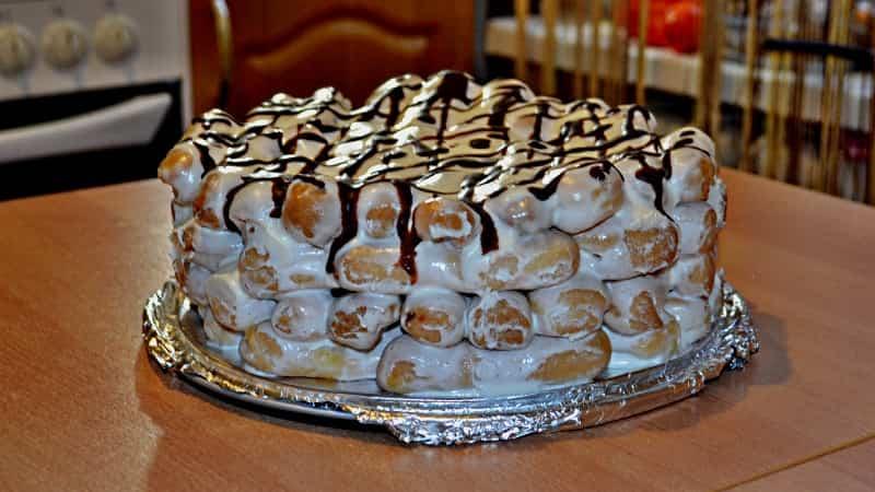 рецепт торта Дамские пальчики