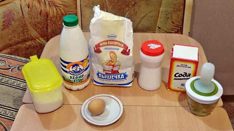 Ингредиенты для идеальных оладьев