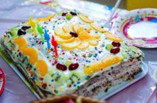 Торт «Шоколад на кипятке» со сметанным кремом