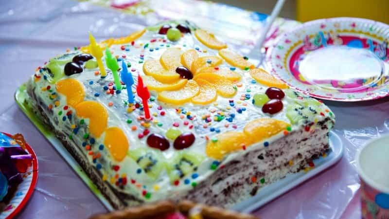Торт шоколад на кипятке со сметанным кремом