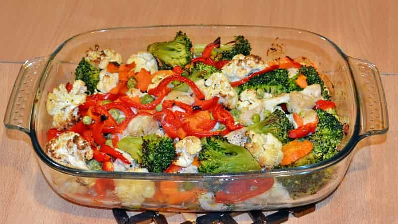 Куриная грудка с овощами - вкусный пецепт