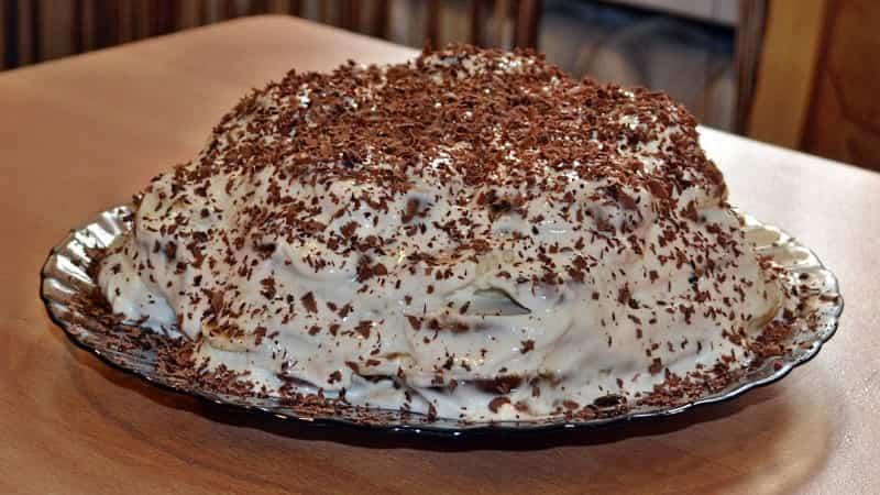 Торт из пряников в сметанном креме